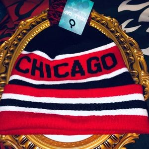 CHICAGO STOCKING HAT UNISEX NEW WITH TAGS